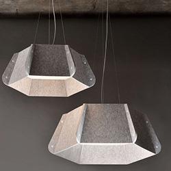 Светильники из фетра